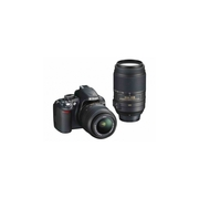 Nikon D3100 Digital SLR Camera with Nikon AF-S VR DX 18-55mm lens